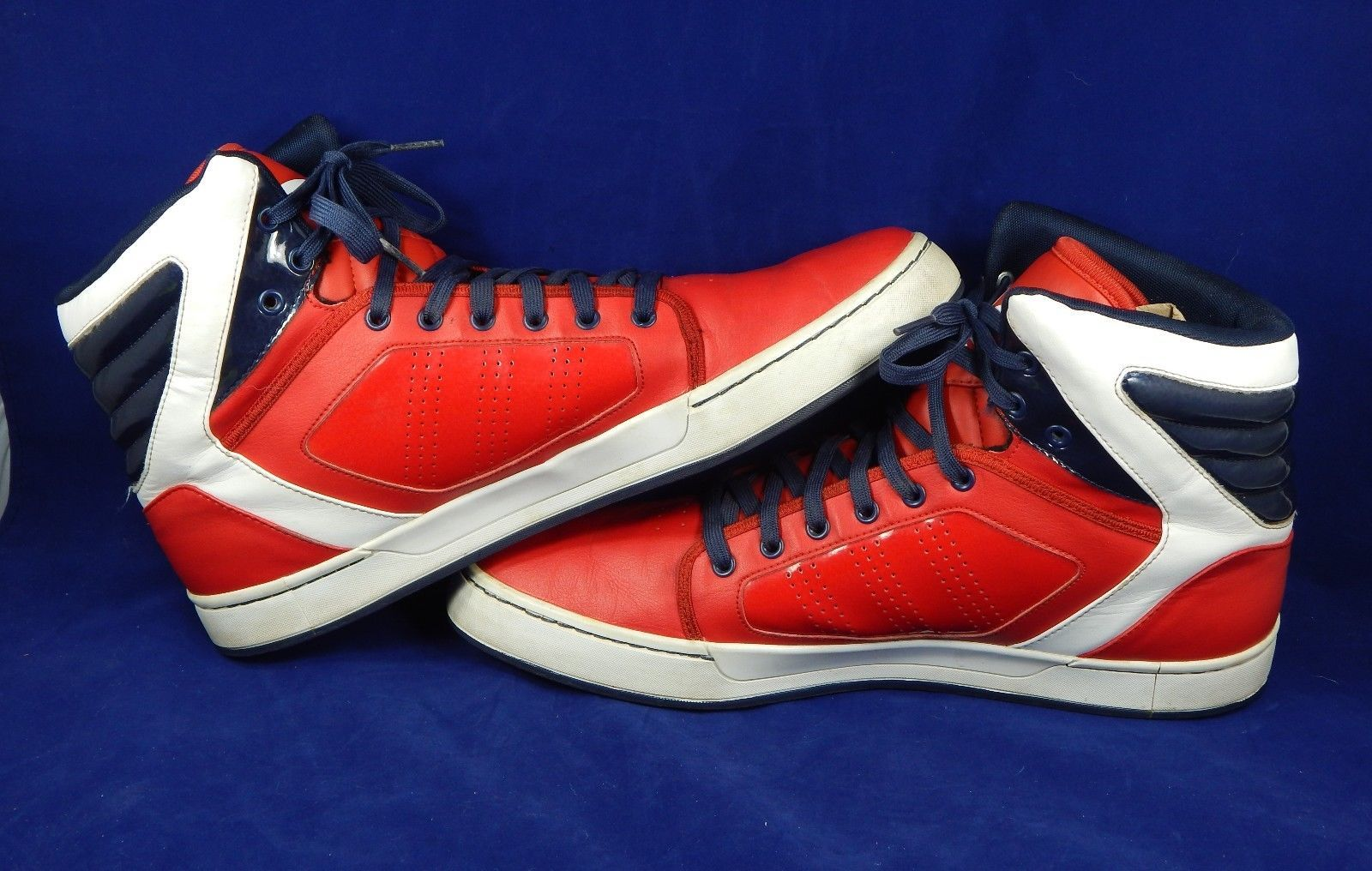 08d269a4d8f Adidas G56624 Originals ADI High EXT Basketball Shoes Red White Blue Size  US 13