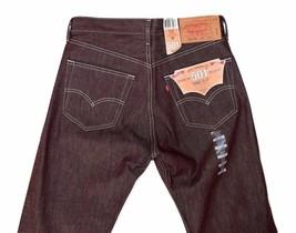 Levi's 501 Men's Original Fit Straight Leg Jeans Button Fly 501-1207 image 1