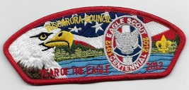Tuscarora Council SA-30 2012 Eagle Scout CSP (Red) - $24.75