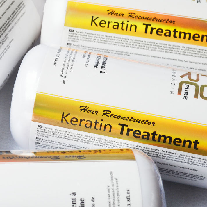 Brazilian Keratin 12% Formaldehyde Hair Straightening Treatment Repair 1000ml image 4