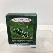 2000 Mini Kiddie Car Luxury Ed Hallmark Christmas Tree Ornament MIB Price Tag H2 - $12.38