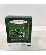 2000 Mini Kiddie Car Luxury Ed Hallmark Christmas Tree Ornament MIB Pric... - $12.38