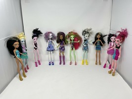 Lot Of 10 Monster High Dolls With Clothes & Shoes AS IS Bratz 2008 - 201... - $89.10