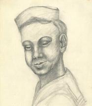 E. Gaston Longney - 1946 Graphite Drawing, Rooky - $14.82