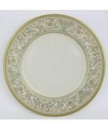 "Gorham ""Lorenzo De Medici"" Green & Gold Bread/Dessert Plate 6-1/4""   - $7.00"
