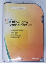 Microsoft Office Home and Student 2007 Software CD Disc with Key Genuine - $19.57