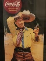 Coca Cola Cowboy Poster Coca-Cola Rare - $37.39