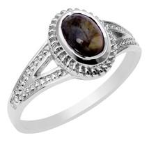 Handmade Tourmaline Gemstone 925 Sterling Silver Jewelry Ring Sz 6.5 SHR... - £14.41 GBP