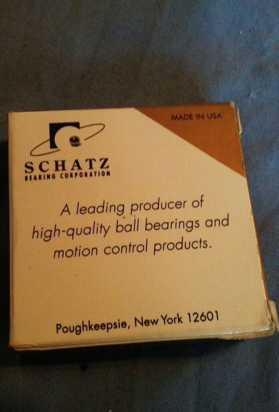 New Schatz bearing 176C2461-11