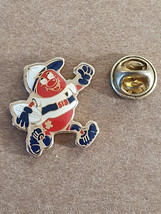 player Metal Enamel Badge Lapel /tie Pin Badge 3d effect with clip for rear of b