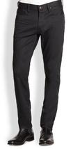 Ralph laurenBblack Label Straight-fit Panther Stretch Jeans, Black, 30X32 - $148.49