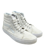 VANS Off the Wall SK8 HI Top Womens True White Sz 7.5 Canvas Skate Sneakers - $28.70