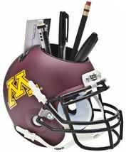Minnesota Golden Gophers NCAA Football Schutt Mini Helmet Desk Caddy - $21.95