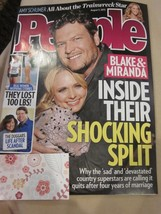 PEOPLE MAGAZINE AUGUST 3 2015 BLAKE SHELTON MIRANDA LAMBERT BRAND NEW - $9.99