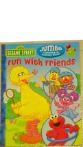 Coloring Activity Book Sesame Street Fun with Friends Coloring New - $5.45