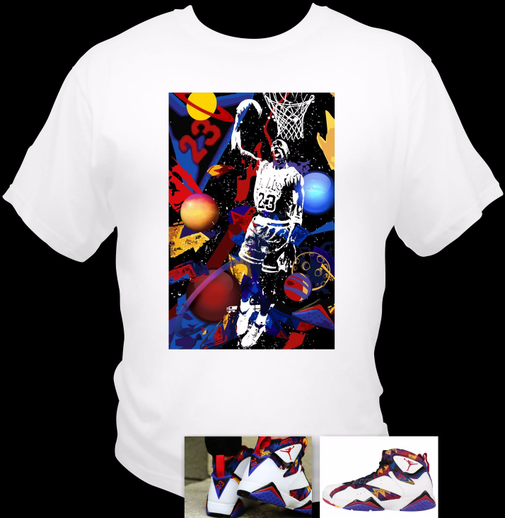 f5d1a14ed93915 air jordan retro 7 t shirts