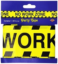 No Work Zone Party Tape Party Accessory 1/Pkg 3-pack - $6.35