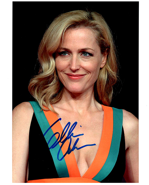 Primary image for GILLIAN ANDERSON Signed Autographed Photo w/ Certificate of Authenticity
