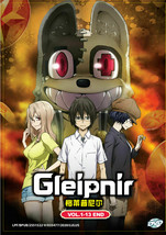 Gleipnir Anime DVD (Vol.1-13 end) with English Subtitle Ship Out From USA