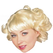 Wig - Cutie Flip - Blonde - Adult Ladies Womens Short Hair Flapper Curls - $9.00