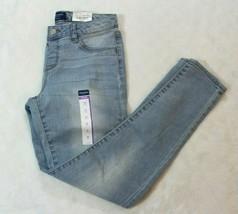 Arizona Girls Jeans Size 14 Regular Jegging Light Wash Adjustable Waistband New - $21.77