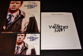 2005 THE WEATHER MAN Movie PRESS KIT Folder, CD, Production Notes Nicola... - $12.59