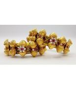 20K GOLD BEADS BRACELET BANGLE CUFF VINTAGE ANTIQUE TRIBAL OLD RAJASTHAN... - $989.01