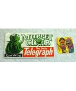 Vintage Australia 1981 Lot of 2x Muppets Stickers - Muppet Club & Kelloggs - $24.18