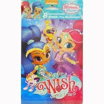 Shimmer and Shine Invitations Thank You Combo Birthday Party Supplies New - $5.10