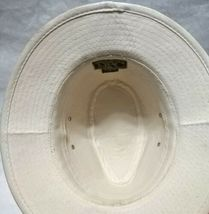 Dorfman Pacific Co. Men's Garment Washed Twill Safari Hat Beige Small, used image 5