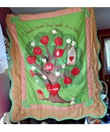 """Family Tree wall hanging 58"""" x 49"""" Apple collection Cracker Barrell - $35.00"""