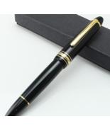 MT-149 MT mountain pen black resin 149 turning cap Luxury Pen White Clas... - $49.99