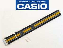 Genuine CASIO G-SHOCK GA-100MC Watch Band strap nylon  Cloth Black Oran... - $52.95
