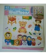 WallToons Doll Teddy Bear Dollhouse Wall Decals Edge Home Products  - $14.99