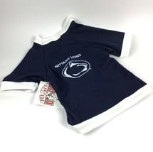 PENN STATE University Nittany Lions NCAA Dog Shirt Football Jersey USA C... - $20.93
