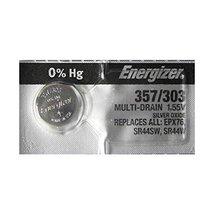 Energizer 357 / 303 SR44 AG13 Silver Oxide Watch Battery - $2.99