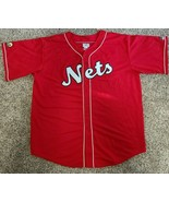 New York NJ Nets NBA Red Classic Jersey 4XL Teamwork Athletic Apparel HTF - $49.01