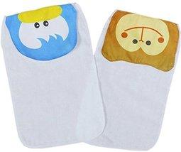 2 Cute Duck/Monkey Baby Cotton Gauze Towel Wipe Sweat Absorbent Cloth Mat Towel