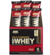 Optimum Nutrition Gold Standard 100% Whey Protein Powder Individual Stick Packs, - $20.30