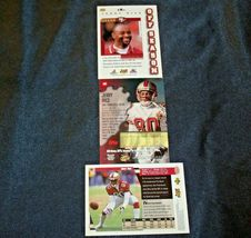 San Francisco 49er's Jerry Rice #80 Football Trading Cards AA-191805 Vintage Co image 8