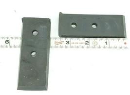 LOT OF 3 NEW OKUMA H1023-0025-18 WIPERS LU45 LOWER CLOSS-SLIDE (BACK PLATE RIGHT image 2
