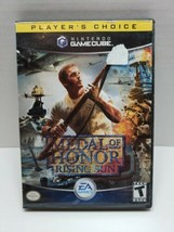 Medal of Honor Rising Sun (Nintendo Gamecube, 2004) Tested and Working  - $3.99