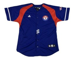 Ian Kinsler #5 Texas Rangers MLB adidas Jersey XL Blue - $39.57
