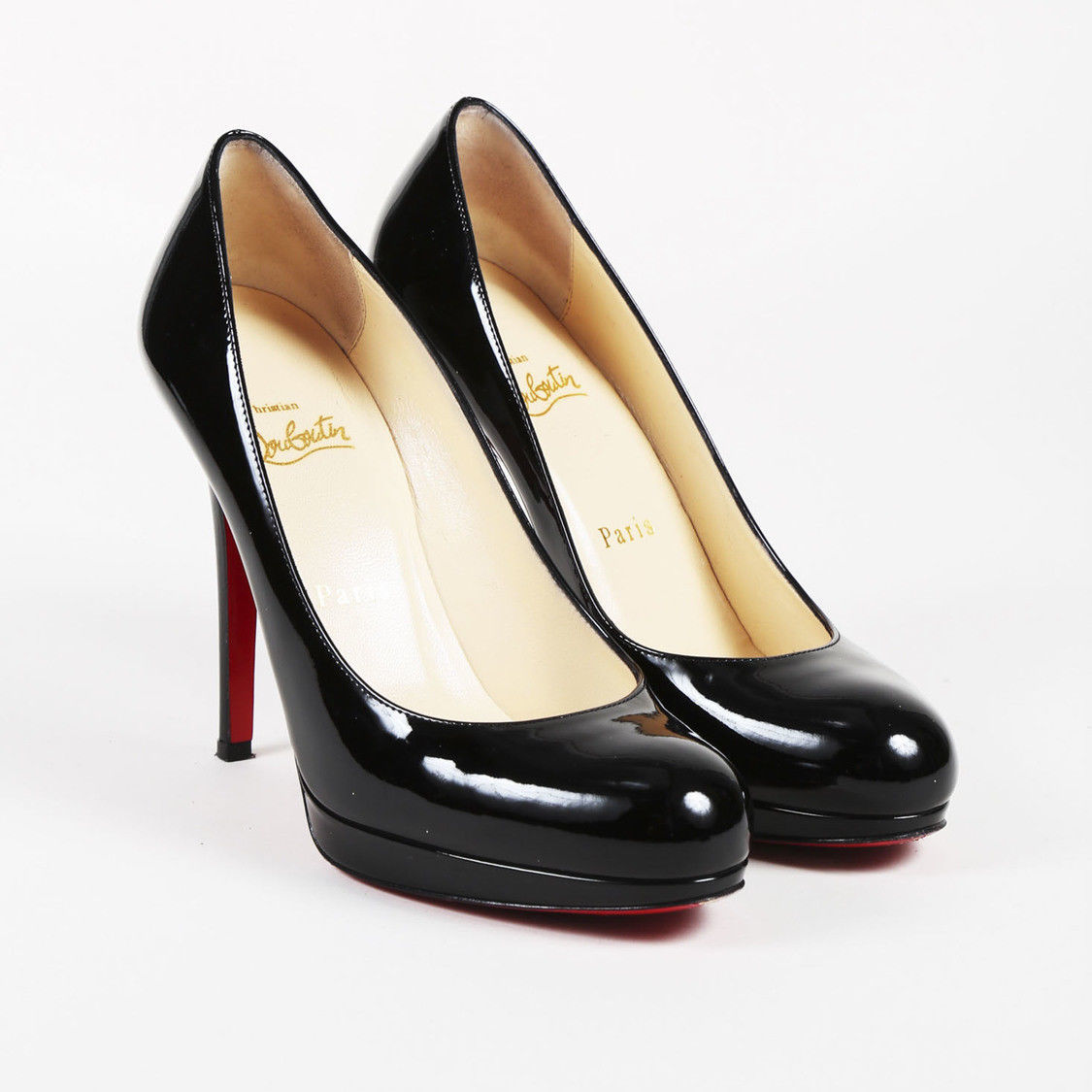 0923c4b168b Christian Louboutin Black Patent Leather