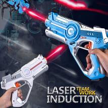 2Pcs CS Team Play Laser Tag Toys Gun Set Shoot Wireless Smart PVPE Outdo... - $49.39