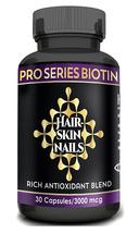Vitamins for Hair Growth Skin Nails Biotin Vitamin C A E Garcinia Green ... - $16.99