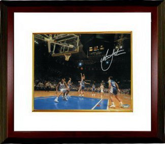 Primary image for Christian Laettner signed Duke Blue Devils Horizontal 8x10 Photo Custom Framed 1