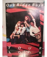 Oak Ridge Boys 1983 Tour Program Poster Book and Catalog - $8.55