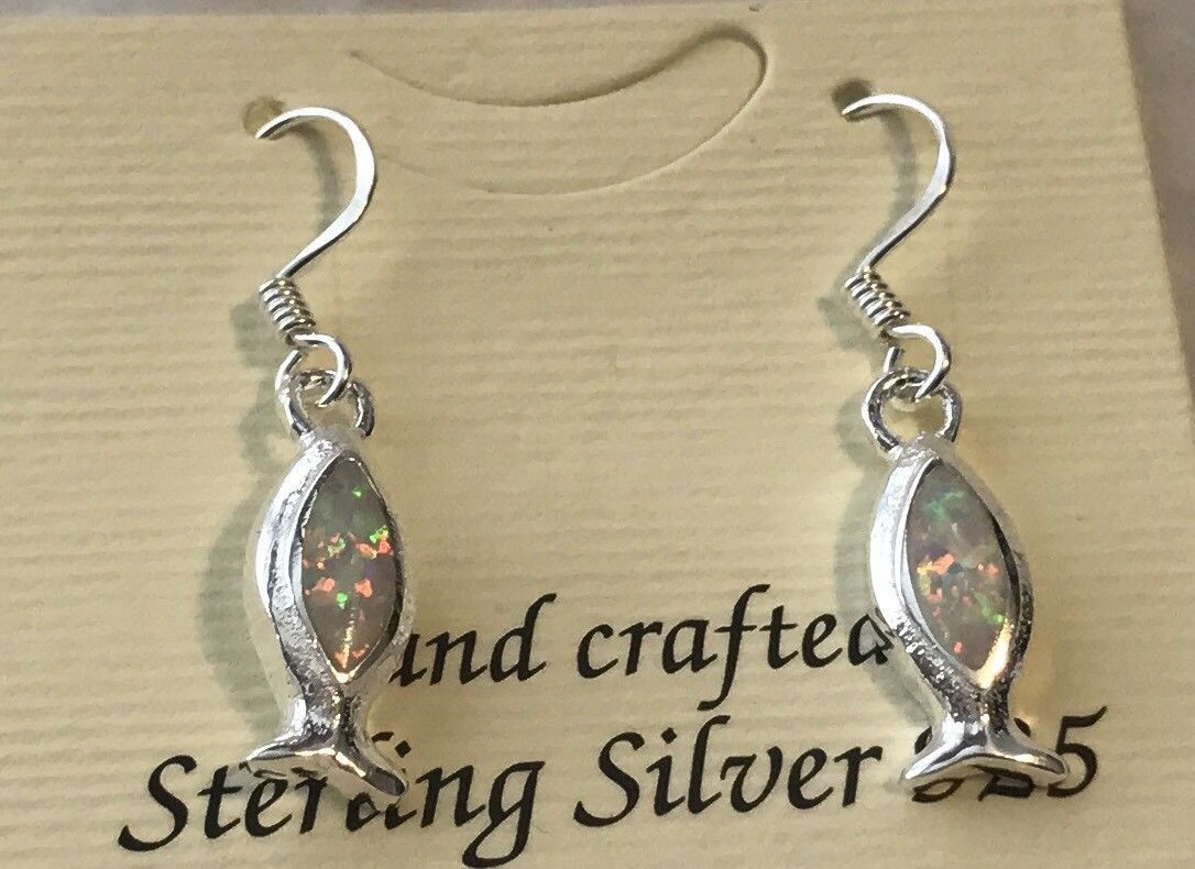 Sterling silver real white opal christian and 50 similar items biocorpaavc Choice Image