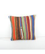 kilim pillow 16x16inc kilim Cushion Cover, Anatolian Kilim  Pillow 40x40cm - $39.00